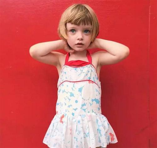 长得好还穿得棒的洋娃娃女孩Olive