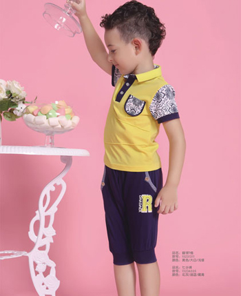 塔哒儿童装 让今夏写满快乐音符
