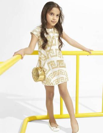 【流行时尚】Versace范思哲2015秋冬新款童装流行服饰画册