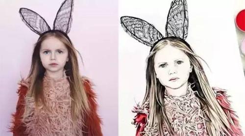 可爱又时尚的4岁小洋妞—Harlow