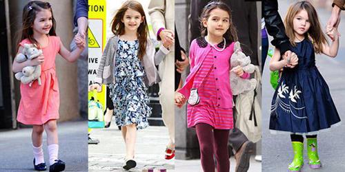 卓维乐解析全球最具影响力明星宝宝镜头下的服饰