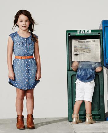 李维斯童装 无法超越的牛仔时尚