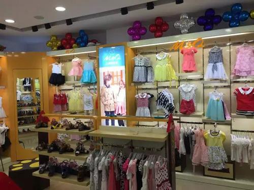 M&Q大眼蛙安溪店形象升级,占据童装市场势不可挡