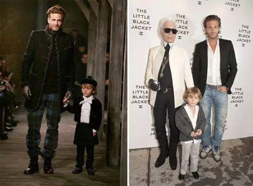 潮孩酷爸来袭,来自好莱坞的型男父子档