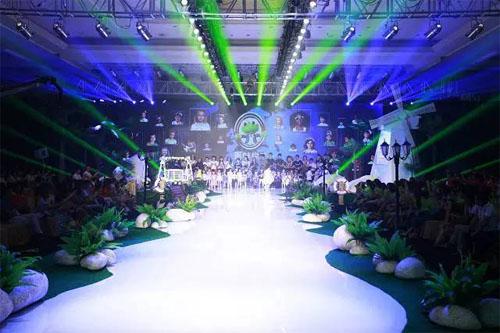"""""""势+""""——青蛙皇子2016春夏新品发布会华美绽放"""