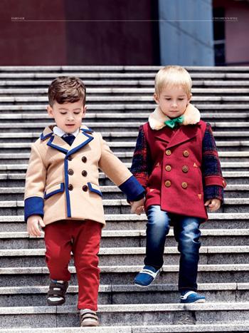 塔哒儿童装 秋冬造型大不一样