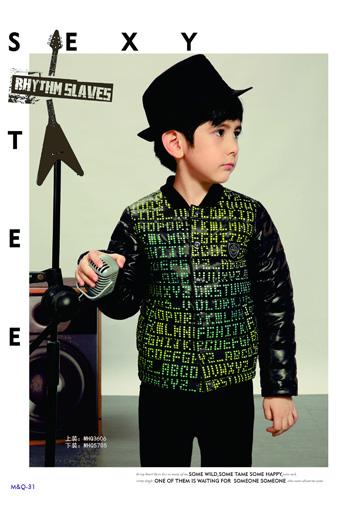 M&Q大眼蛙童装=时尚+炫酷+个性