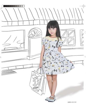 虹猫蓝兔童装:时尚可培养孩子认知力