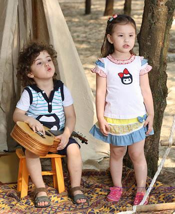 杰米兰帝童装让孩子懂得爱