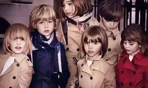 """还是那片""""格子""""——2015秋冬童装流行风潮Burberry表情!"""