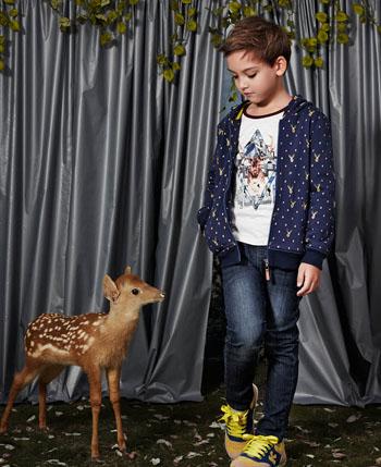 巴柯拉童装:秋冬森林系的清新脱俗
