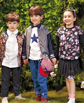 穿威斯米童装 展现童星风尚