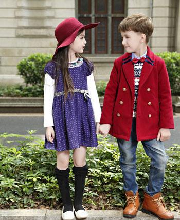 卓维乐童装打造随意时尚态度