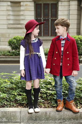 卓维乐童装演绎什么是随意时尚态度风