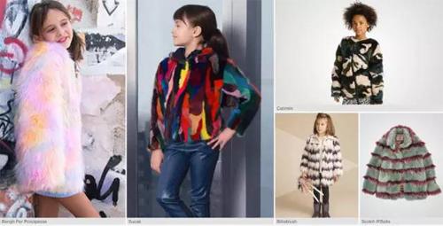 【流行趋势】解读2016-2017秋冬女童装皮草外套图片