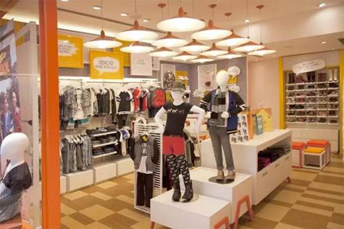 创意无极限的Marisol童装专卖店空间设计