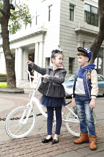 卓维乐童装 | 生活质量的提高为面料插上了讲究的翅膀
