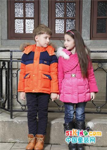 卓维乐童装 让这个冬天充满温暖,充满爱