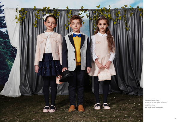 """儿童时装特写PCORA:""""浪漫与贵族的时尚交融"""""""