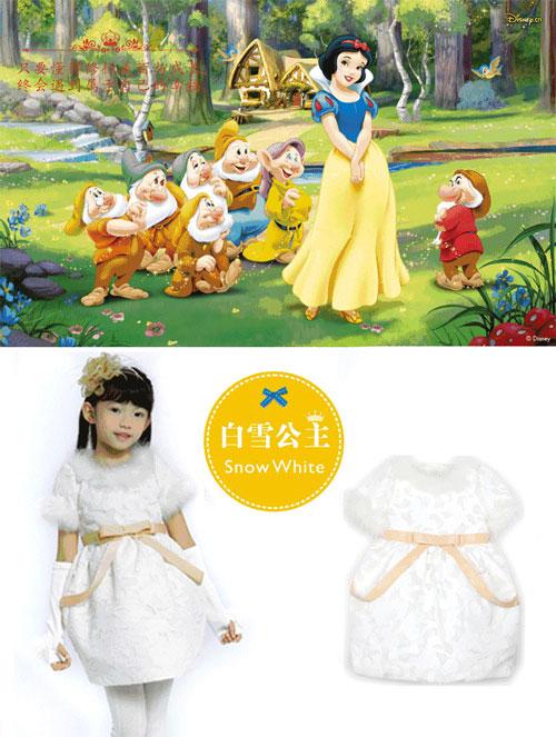 与童话公主一起,穿上最美的冬日连衣裙