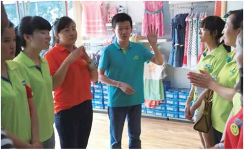 推动区域分公司零售与商品有效衔接——访七波辉太原分公司优秀督导陈佳和
