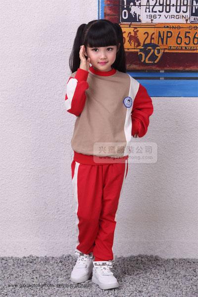 幼儿园秋冬校服 与时尚有个约会
