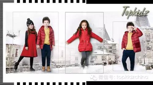 新品‖ 孩子的红色冬装更衬冬日雪景!