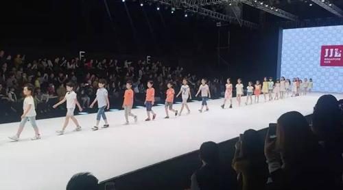 首家童装品牌季季乐童装亮相厦门国际时装周