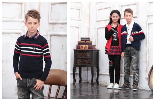 皮尔卡丹少年装2016春夏新品系列上市  时尚画报抢先LOOK!