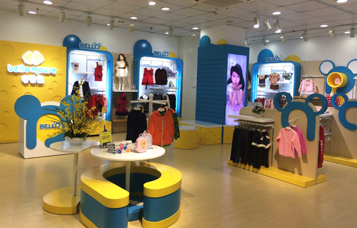 贝乐鼠童装,童装新店开业,中国童装