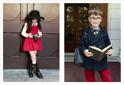 卓维乐童装签约清远英州明珠广场