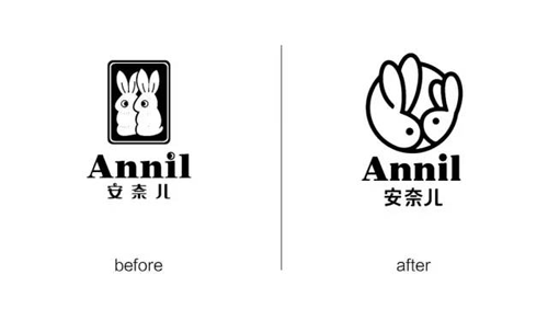 陪伴升级,安奈儿新logo启程献礼!