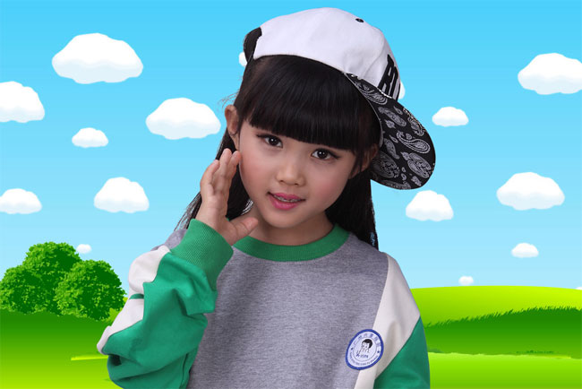 幼儿园校服批发 时尚精品在兴童