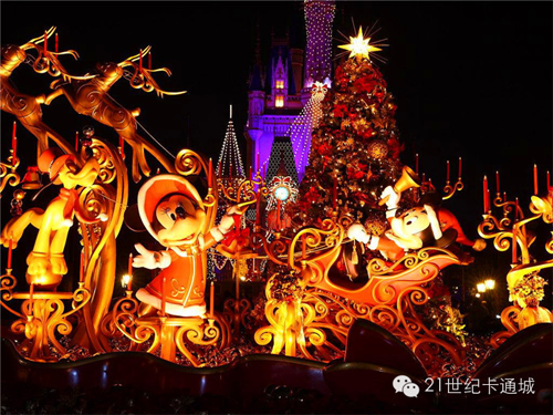 迪士尼:Merry Christmas