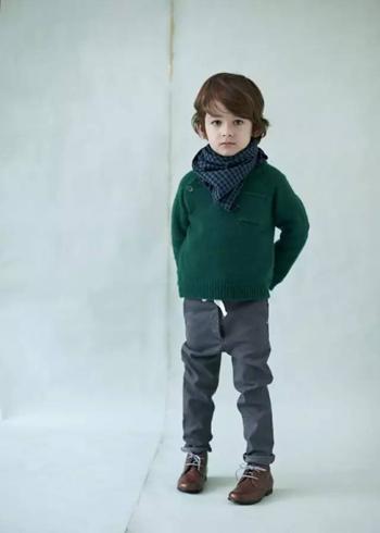 宝贝们冬季就这样穿,18个好看的冬季童装造型