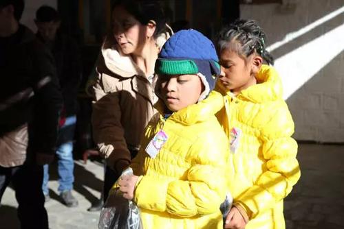 公益行动第三站|温暖过冬,关爱残疾儿童