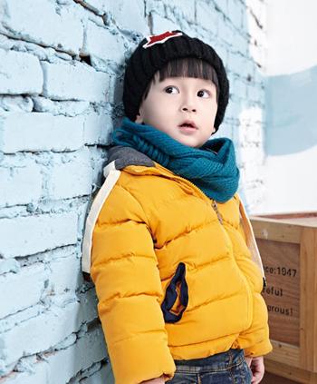 糖之果童装的2014冬季糖果色