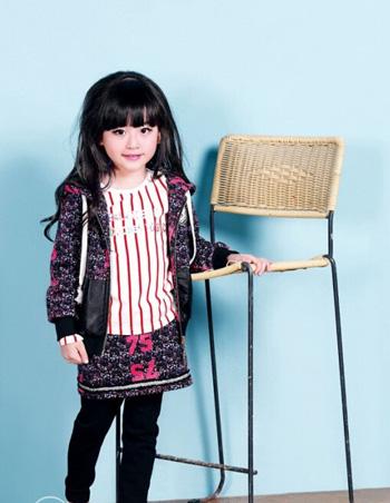 轻时尚童装品牌森门告诉你 小女孩适合怎么穿衣打扮