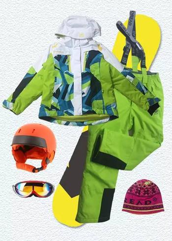 2015探路者童装滑雪系列产品全新推出