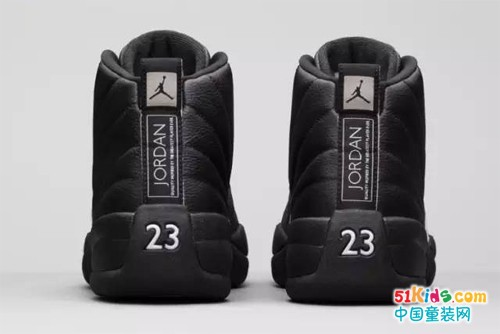"ROOKIE向经典致敬- Air Jordan 12 ""The Master""黑金配色开启预售"
