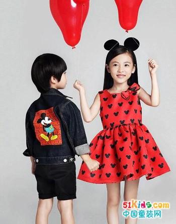Mini Peace童装推出新衣啦 米奇系列童装热销