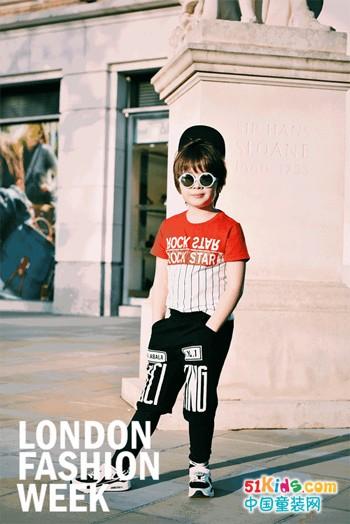 伦敦时装周潮童街拍新鲜出炉——【Balabala夏日新品抢先看】