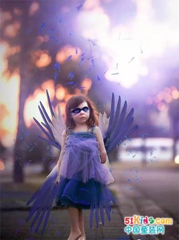 残缺的天使,妈妈却为她拍了世界上最美的照片