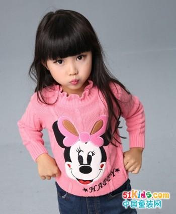 你家孩子穿什么毛衣?贝蕾地女童可爱毛衣搭配