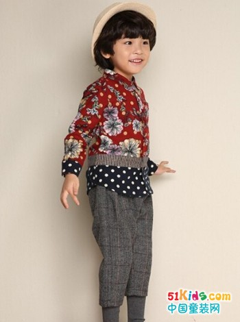 贝蕾地品牌童装 帅气男孩值得拥有
