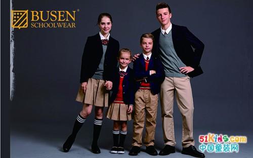 步森时尚校服登录上海国际校服展,发展多元化精英校园生活方式