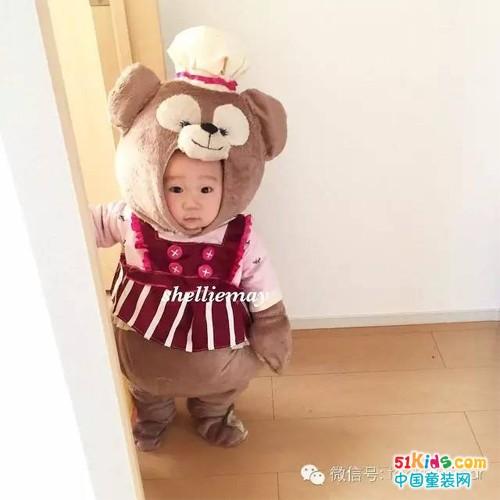 今天人家是只可爱的小熊哦