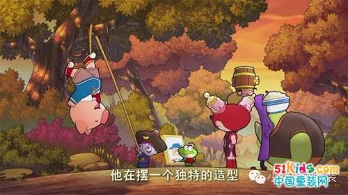 《小猪班纳之星幻骑士》4月登陆央视少儿频道