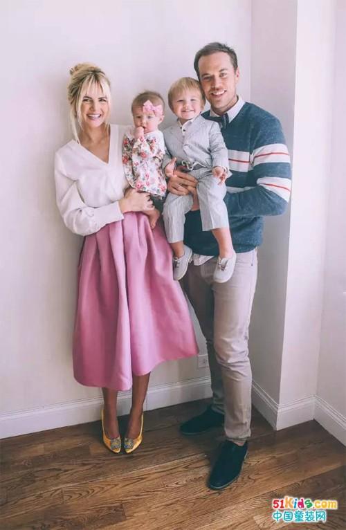 时尚家庭照,隔着屏幕都能感受到的幸福
