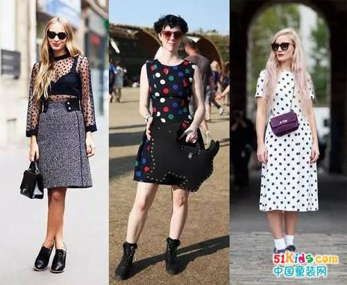 一分钟Get今夏童装最时尚,波点元素演绎时尚经典!